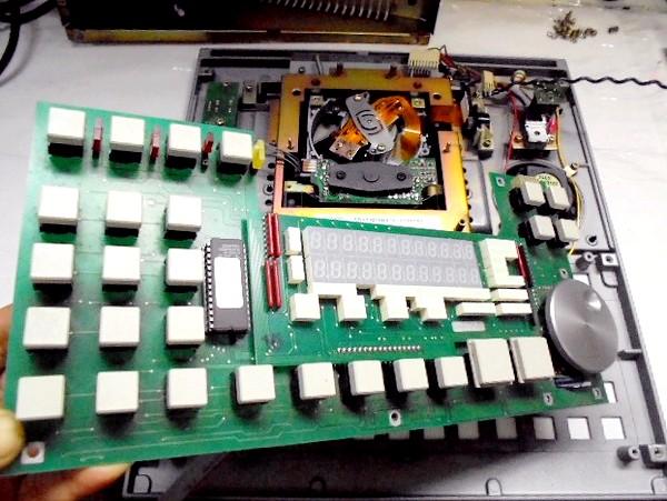STUDER D730MK2の操作ボタンの整備