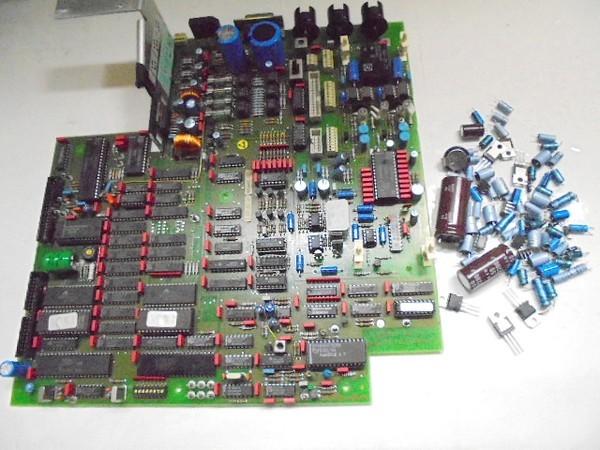 STUDER A730 メイン基板の整備・劣化部品の交換。