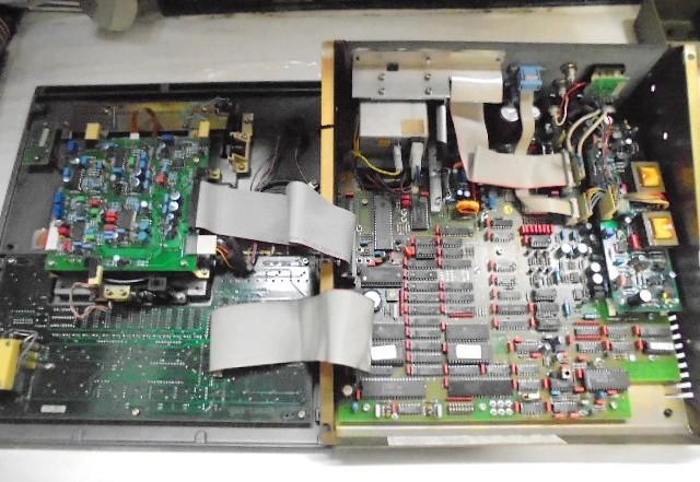 STUDER A730 作業前の内部基板