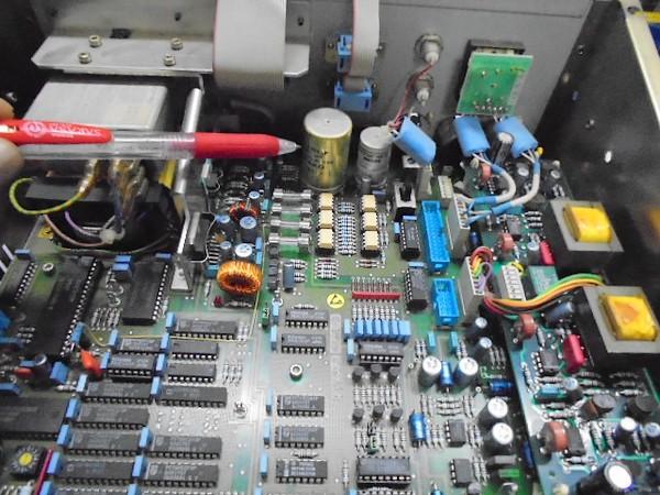A730 作業前のメインボードの写真