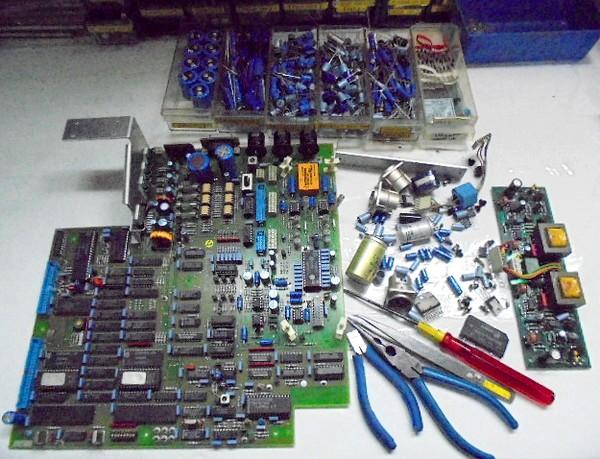 STUDER A730のメインボード整備