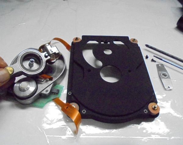 STUDER A730 ドライブメカCDM3の分解オーバーホール