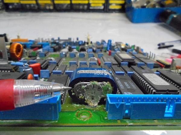 A730電池の液漏れがかなりありました