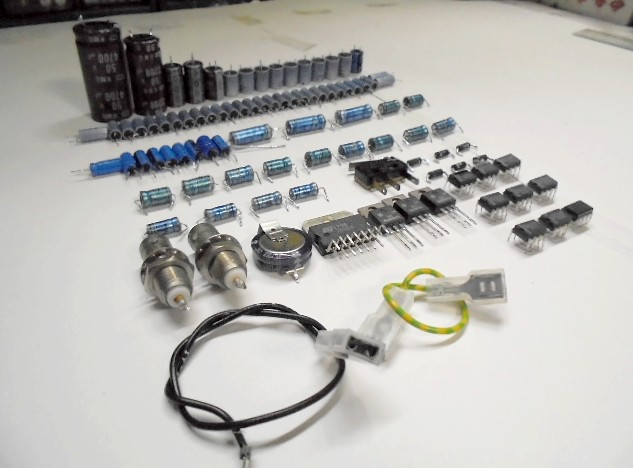 STUDER A730 劣化交換部品。