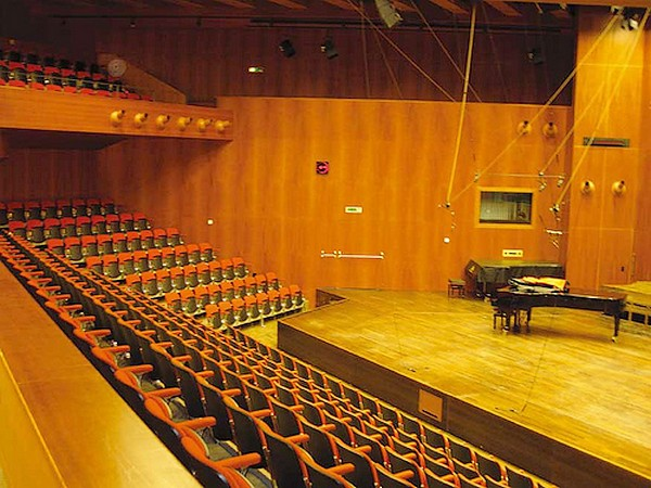 録音場所 Auditorio Radiotelevisione svizzera