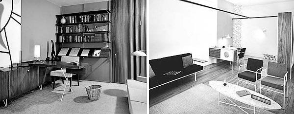 1960年代当時セットされていた部屋