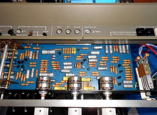JBL SA600 整備メニュー