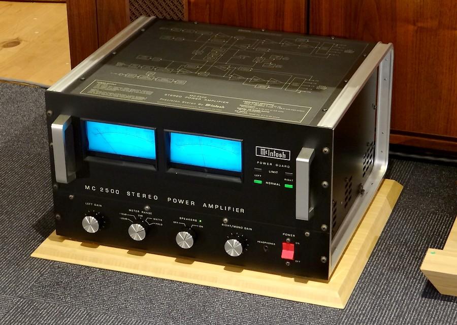 McIntosh MC2500 中古パワーアンプ