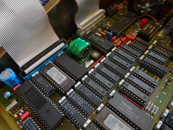 メモリ電池はSTUDER仕様と同じ電池へ交換。