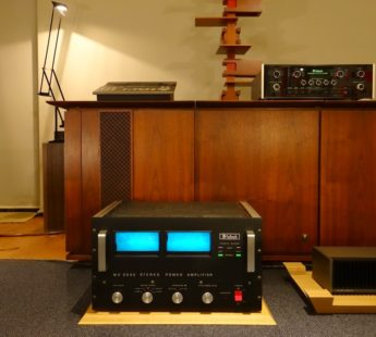 McIntosh MC2500 POWER of Music