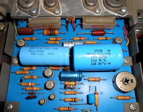 パワーアンプ基板の整備