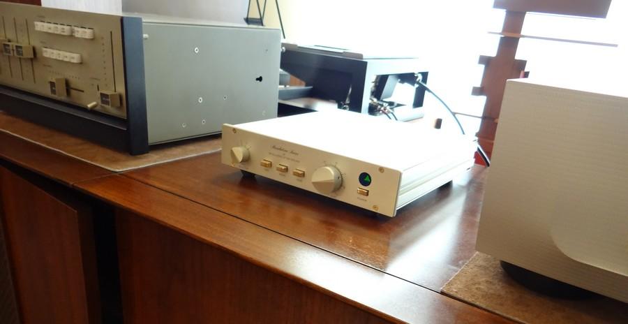 FM Acoustics FM155プリアンプ