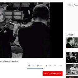 Jascha Heifetz plays Tchaikovsky Violin Concerto: 1st mov. 視聴回数 3,055,946 回