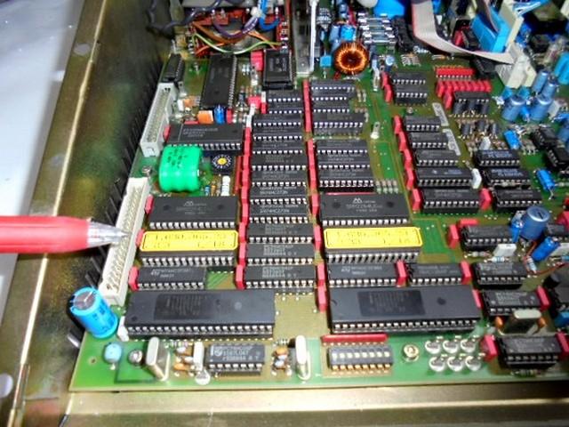 STUDER A730 のロム内部データー変更。