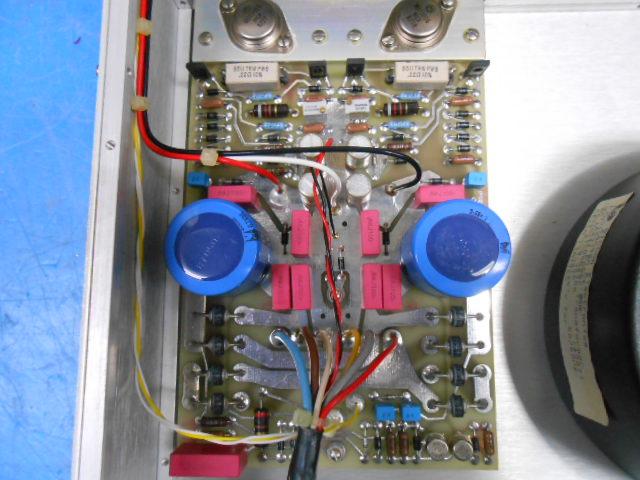 整備前のCello MASTER SUPPLY基板