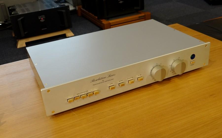 FM ACOUSTICS FM255プリアンプ(中古)