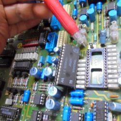 STUDER A730 D/A変換部のソケット交換