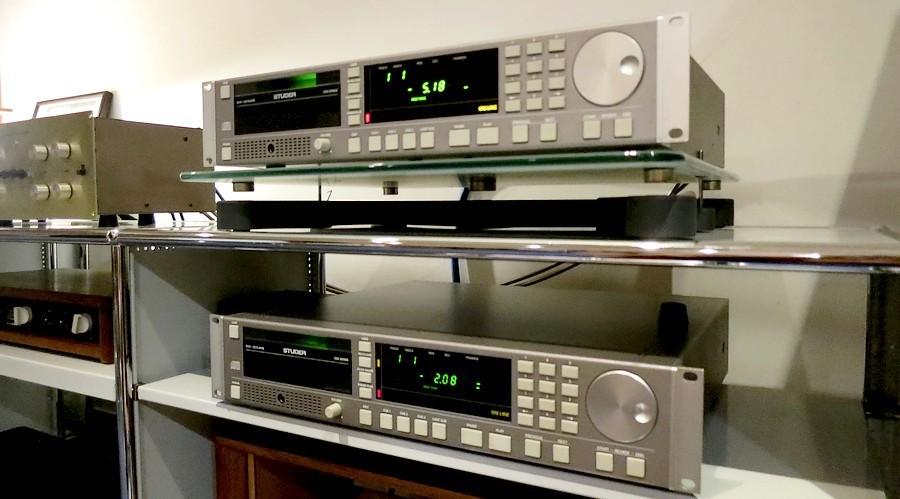 STUDER D731プロ機のレストア&PHILIPS CDM4メカの換装