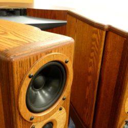 レイオーディオ中古 Rey Audio K-Monitor KM1V & KS1Vスタンド