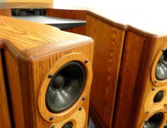 USED Rey Audio K-Monitor KM1V-M & KS1V Stand 中古モニタースピーカー