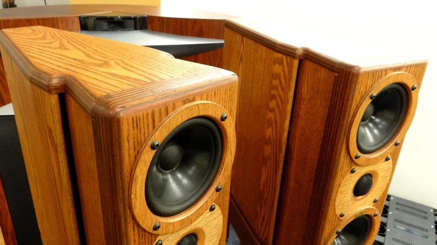 中古 Rey Audio K-Monitor KM1V & KS1Vスタンド