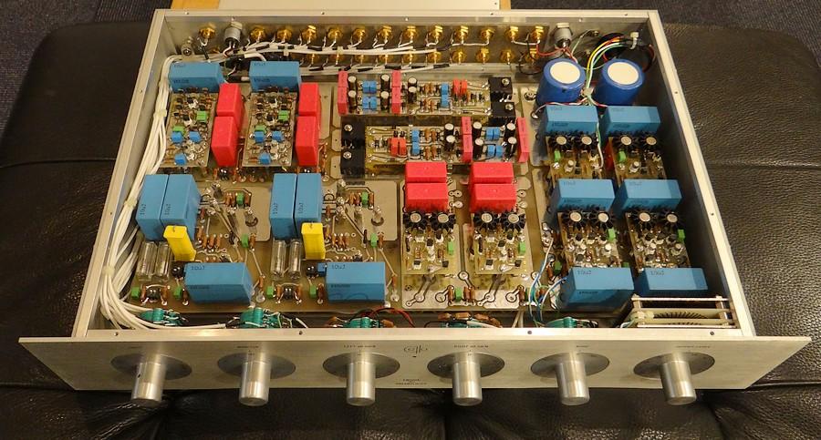 cello ENCORE 1MΩ L プリアンプの内部基板