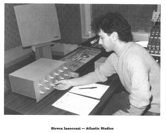 Steven Innocenzi-Atlantic Studios