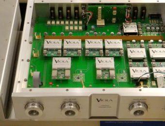 VIOLA CADENZA ご納品前整備   ヴィオラ・カデンツァ・プリアンプ整備