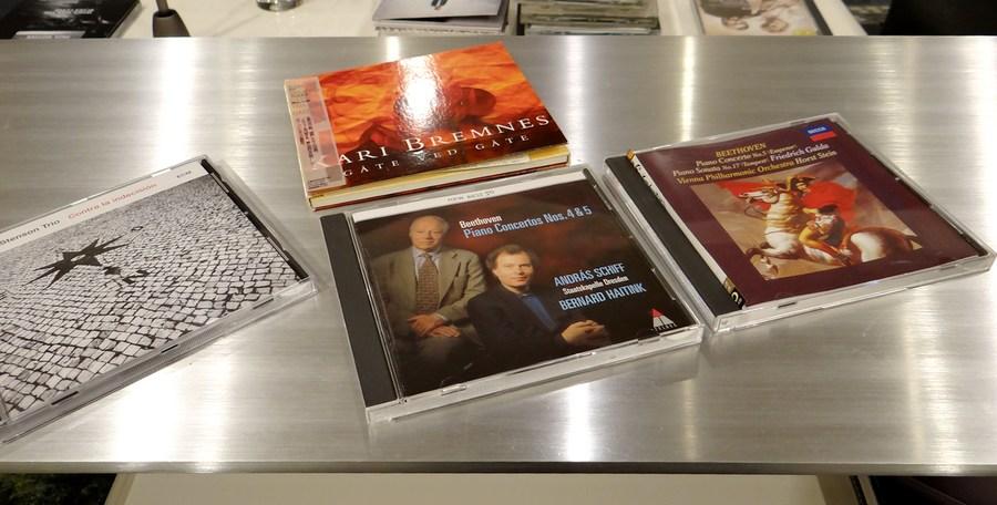 audio listening cd