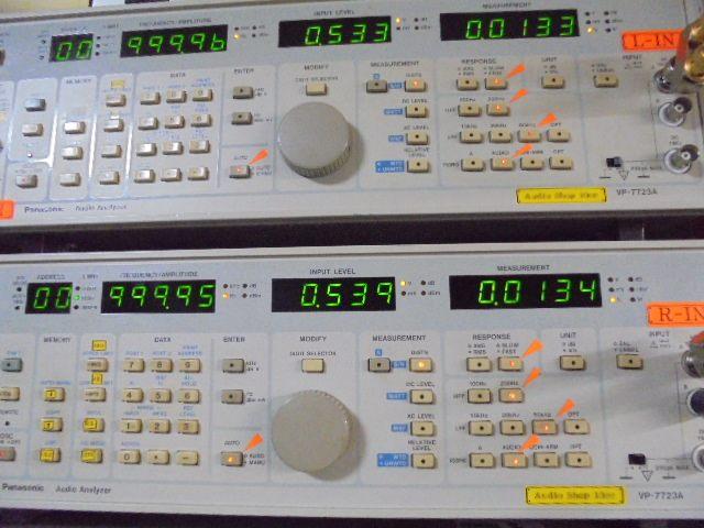 PHILIPS_LHH700_1KHz_基準信号の歪率_0.001%台と優秀な成績です。