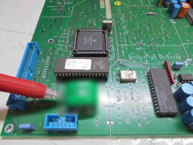 液漏れしない交換後のメモリ電池