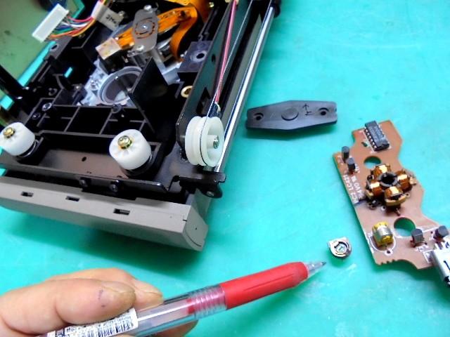 PHILIPS LHH900Rの錆びたサーメットトリマーの交換