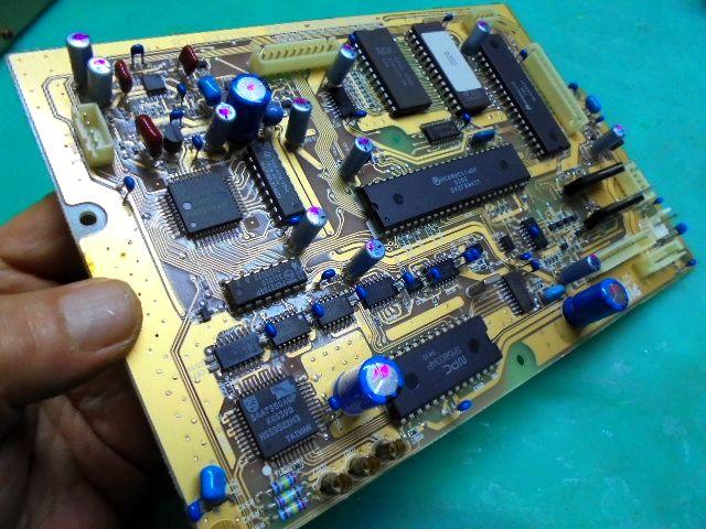 PHILIPS LHH900Rのドライブメカ制御基板