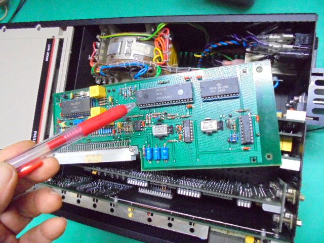 PHILIPS LHH2000|DAC部・DAC基盤の消耗部品交換整備