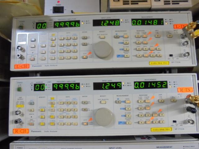 STUDER_A730_1KHz_基準信号の歪率_0_01%台と優秀な成績です。
