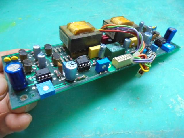 STUDER A730|STUDER A純正部品を使用し整備後の出力基板
