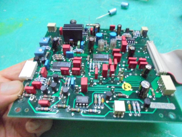 STUDER A730ドライブメカの制御基板の整備