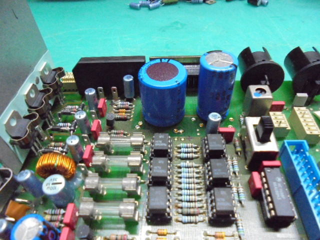 STUDER A730|電源部の整備