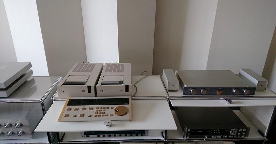 PHILIPS LHH2000|フィリップス初代プロ用CDプレーヤー
