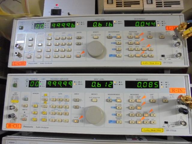 PHILIPS LHH2000|1KHzの歪率です