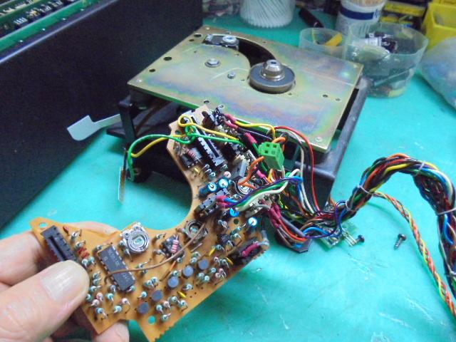 PHILIPS CDM0ドライブメカの整備