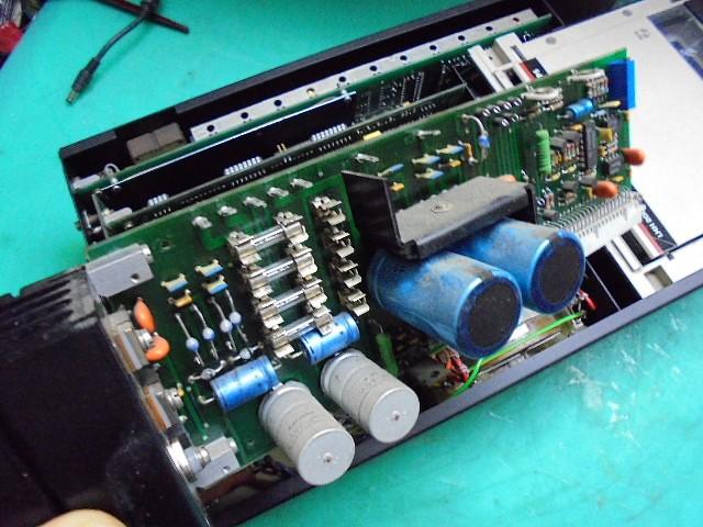 PHILIPS LHH2000|整備前の電源部基板