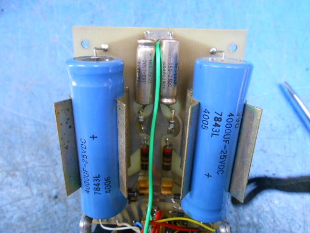 Mark Levinson LNP-2L|電源ユニットPLS153の消耗コンデンサ交換前