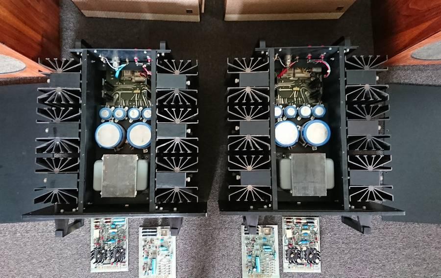 Mark Levinson ML2L EIコア|今回入荷したマーク・レヴィンソンML2Lパワーアンプ。