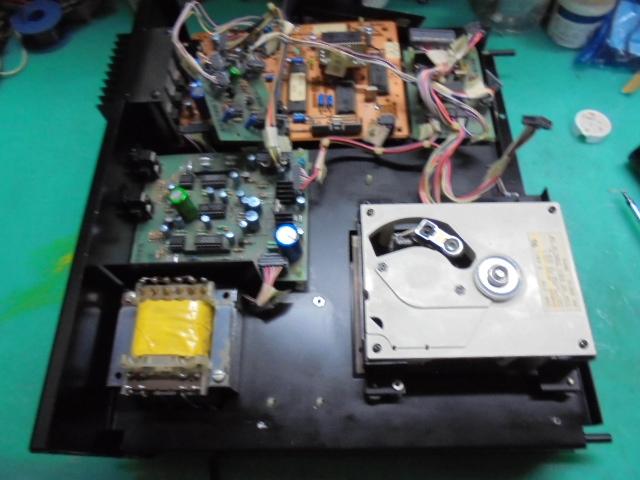 McIntosh MCD7005のオーバーホール整備|