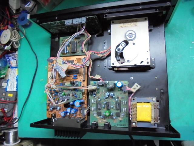 McIntosh MCD7005のオーバーホール整備|CDM2制御基板の整備