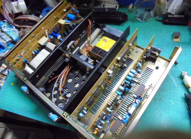 STUDER A725 CD Player PHILIPS CDM1制御基板の整備