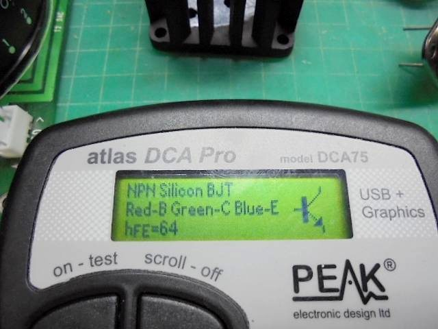KRELL SBP-64X|トランジスタの測定