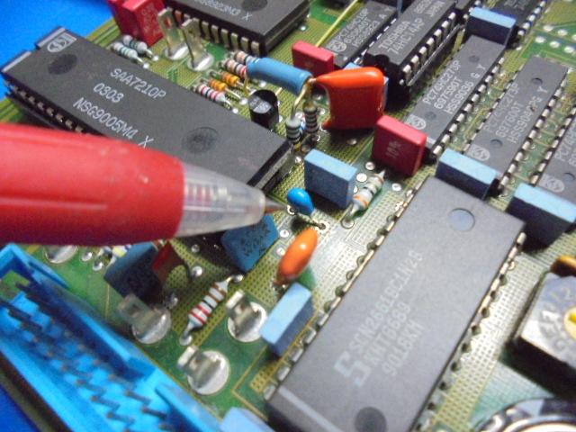 STUDER A730|電解コンデンサーが積層セラミックに交換されておりました。