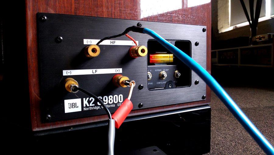 JBL K2 S9800 Speaker bi amp